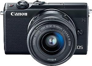 Canon EOS M100 Mirrorless Digital Camera