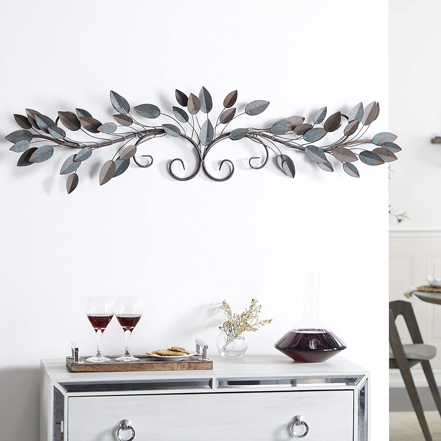 Deco 79 Metal Wall Decor, 51 by 12