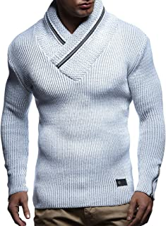 LN4170 Men's Pullover with Zipper Accents