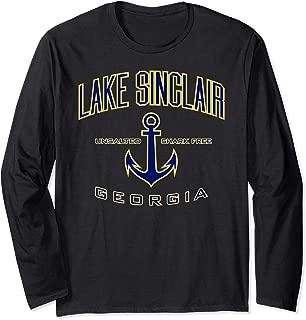Lake Sinclair GA Long Sleeve Shirt for Women & Men