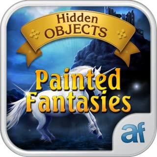 Hidden Objects Painted Fantasies & 3 puzzle games