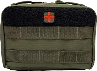 HSD First Aid Kit Pouch - Admin EMT Medical IFAK Utility MOLLE PALS (Ranger Green)