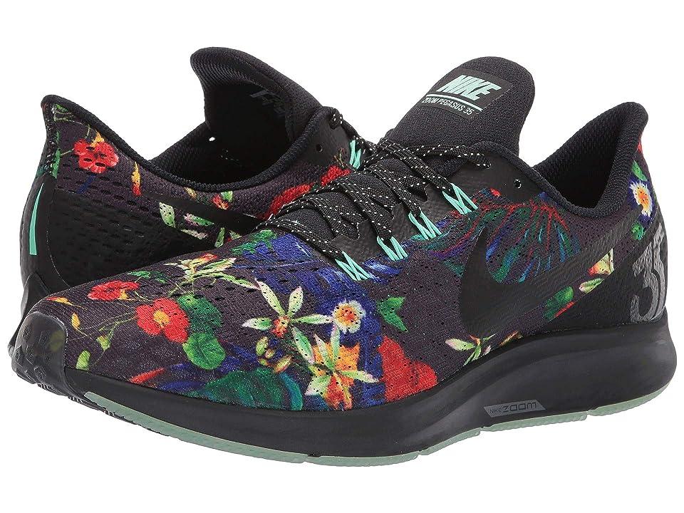 Nike Air Zoom Pegasus 35 GPX RS (Black/Black/Green Glow) Men
