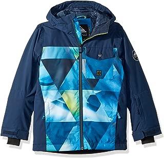 Quiksilver Boys' Big Mission Block Youth 10k Snow Jacket