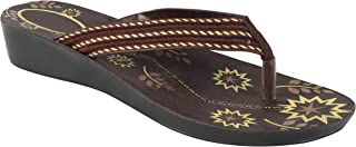 Shoefly Brown-5022 Latest Collection of Casual Slippers for Women
