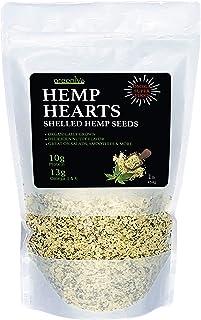GreenIVe - Hemp Hearts - Hulled Hemp Seeds - Protein + Fiber - Exclusively on Amazon (1 Pound)