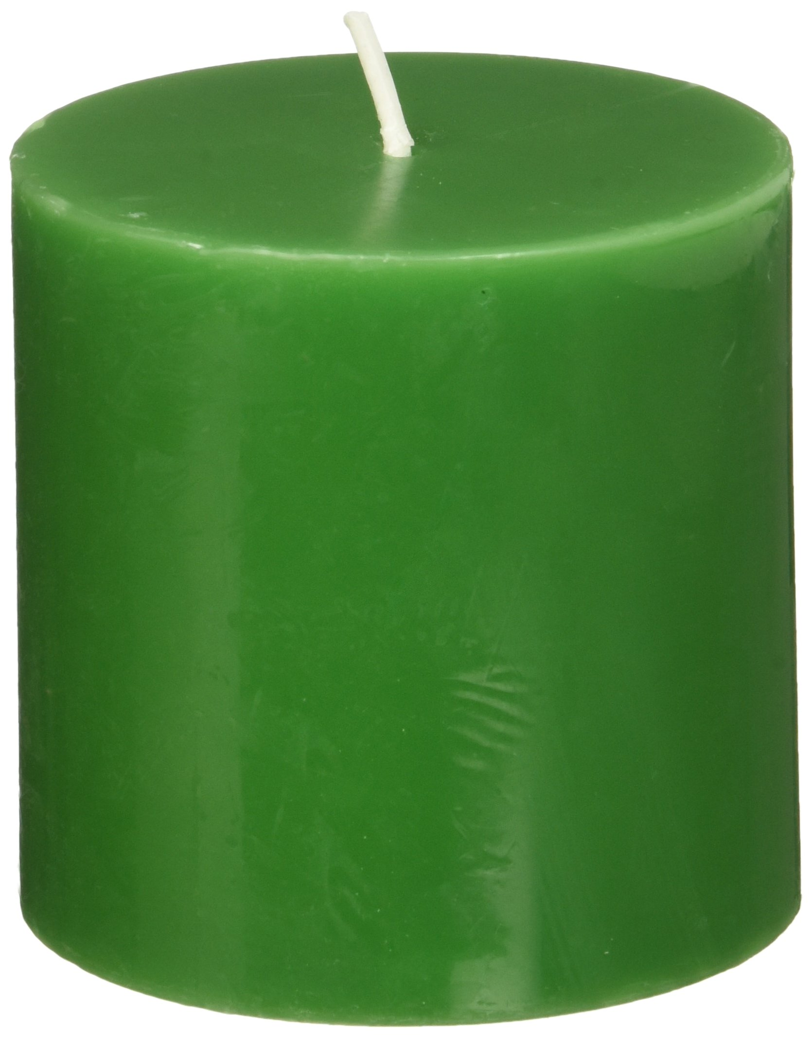 Customizable Fragrance /& Size Candles Energy Pillar Candle Green 2x63x33x43x64x6 Natural Palm Wax Crystallized Pattern