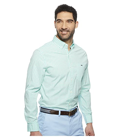 Vines Shirt Gingham Tucker Vineyard Carleton Classic YwPavfq
