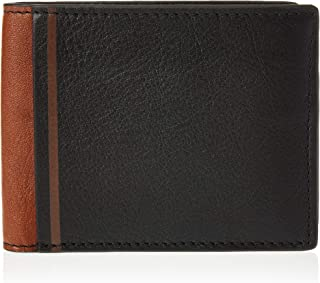 Fossil Men's Phillip Leather Coin Pocket Bifold Wallet