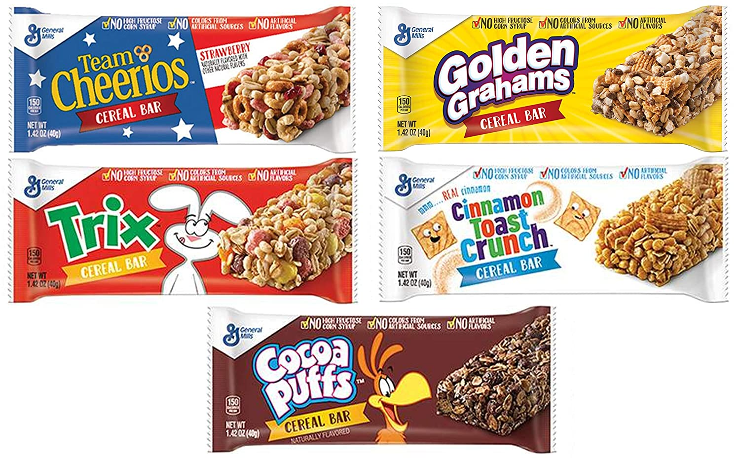 Cereal Directly managed store Bar Variety Pack Team Cheerios Cocoa ...