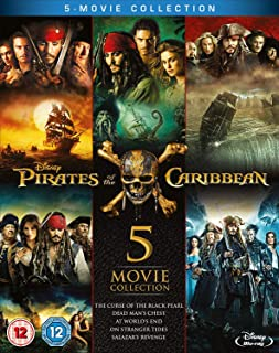 Pirates of the Caribbean: 5-Movie Complete Collection Region Free  UK