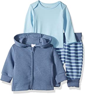 Ultimate Baby Flexy Jogger with Long Sleeve Crew and...