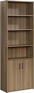 Sauder 425089 Beginnings Bookcase with Doors, Summer Oak