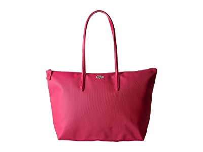 Lacoste L.12.12 Concept Large Shopping Bag (Virtual Pink 1) Tote Handbags