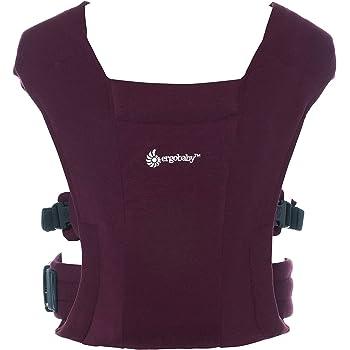 エルゴベビー (Ergobaby) 抱っこひも 前向き抱き可 [日本正規品保証付] 新生児から 柔らかい 軽量 簡単装着 ベビーキャリア エンブレース Embrace バーガンディー 0カ月から CREGBCEMABURG