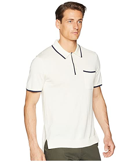 Outlet Wholesale Price Todd Snyder Tipped Polo White Recommend Cheap Free Shipping Exclusive Very Cheap Cheap Online dWszTvR