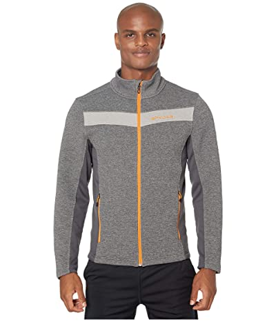 Spyder Encore Full Zip Fleece Jacket (Ebony) Men
