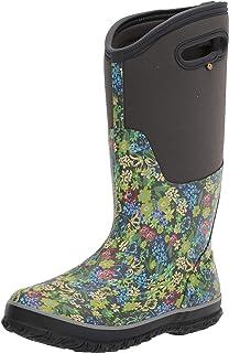 حذاء المطر النسائي الطويل الكلاسيكي BOGS