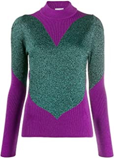 GCDS Luxury Fashion Womens FW20W02004511 Purple Sweater | Fall Winter 19