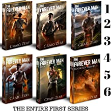 The Forever Man - first SIX books: An Epic, Post-apocalyptic, Urban Fantasy, Action Adventure Thriller