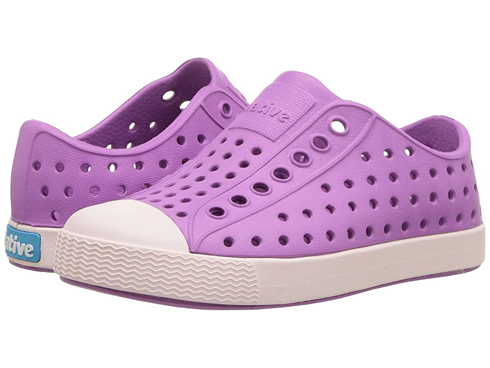 Native Kids Shoes Jefferson (Toddler/Little Kid) (Peace Purple/Milk Pink) Kids Shoes
