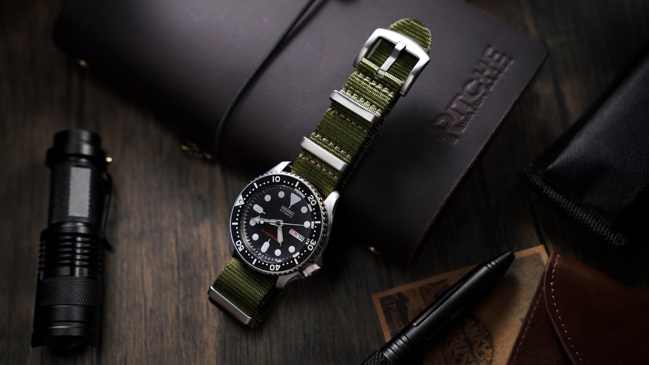 Ritche Nato Watch Strap with Heavy Buckle 18mm 20mm 22mm Premium Seat Belt Nylon Watch Bands for Men Women
