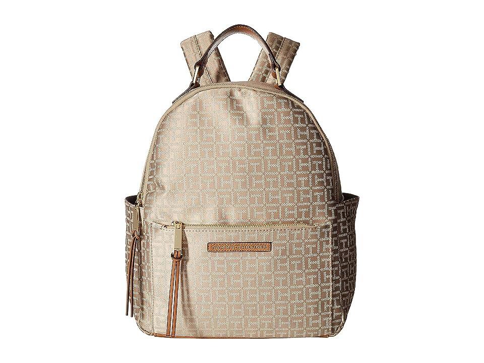 Tommy Hilfiger Althea Backpack (Khaki/Tonal) Backpack Bags