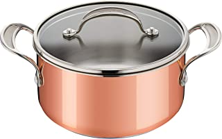 Tefal Jamie Oliver Triply Copper E49044 Cooking Pot Stainless Steel/Aluminium/Copper