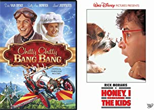Families Who Invent Together - Honey I Shrunk the Kids & Chitty Chitty Bang Bang 2-DVD Bundle