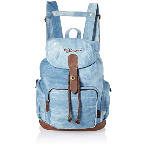 f3bc7a103b1d DGY Women s Korean Fashion Canvas Backpack For College G00117 Denim Blue NEW