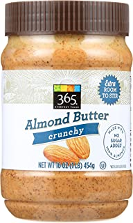 365 Everyday Value, Crunchy Almond Butter, 16 oz