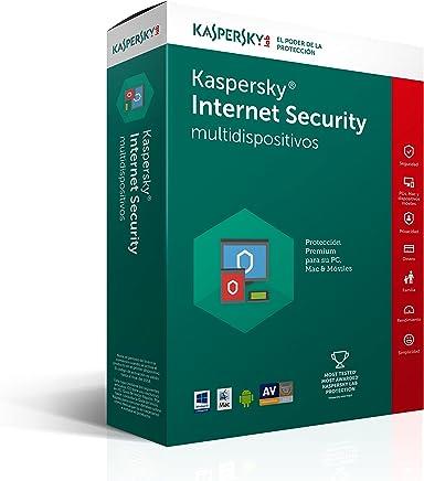 Kaspersky Internet Security para Multidispositivos 2017 3+1 usuario 1año