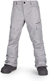 Boys' Big Cargo Insulated 2 Layer Shell Snow Pant
