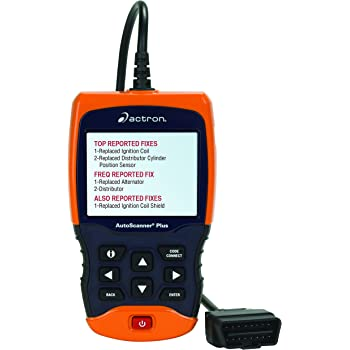 Actron CP9680 AutoScanner Plus OBD II Scan Tool for All 1996 and Newer and Select 1994-95 vehicles - Includes ABS and Airbag Features for Select Applications
