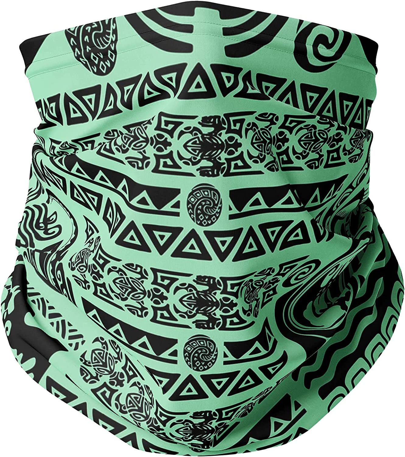 Neck Gaiter Face Covering - Maui Tattoos Moana Inspired