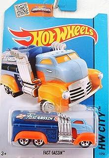 Hot Wheels 2015 Treasure Hunt Fast Gassin - HW City 7/250