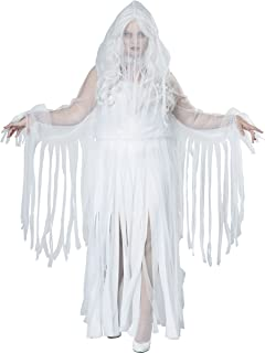 Women's Ghostly Spirit Plus Size Costume