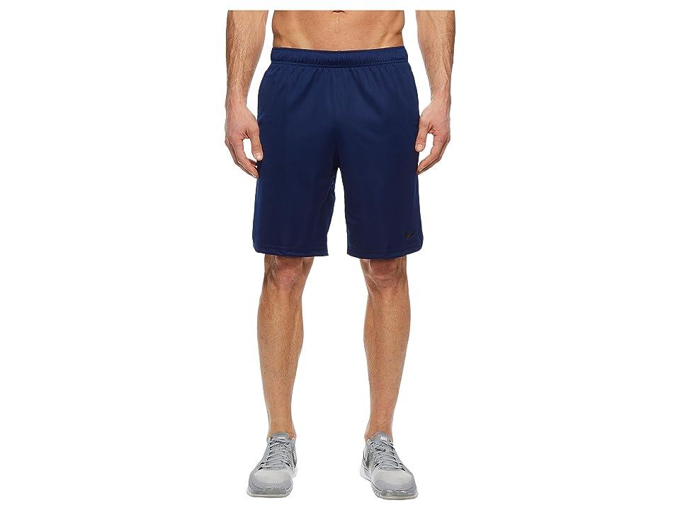 Nike Dry Training Short (Blue Void/Black) Men