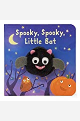Spooky, Spooky, Little Bat Finger Puppet Halloween Board Book Ages 0-4 (Finger Puppet Board Book) Board book