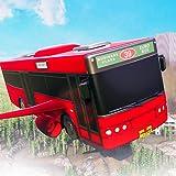 Extremer futuristischer fliegender Bus-Gefangener-Transport-Flugsimulator 3D: Wütender Bus-treibender rennender Parken-u. Transporter-Versuchsflug-Abenteuer-freies Spiel für Kinder 2018