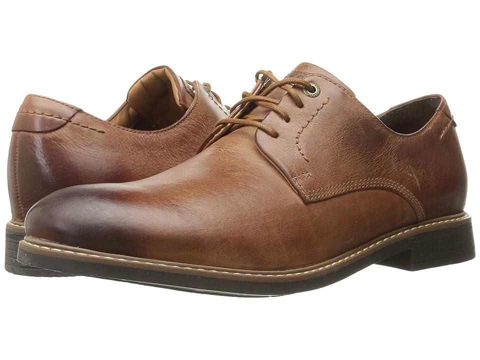 Rockport Classic Break Plain Toe (New Cognac) Men