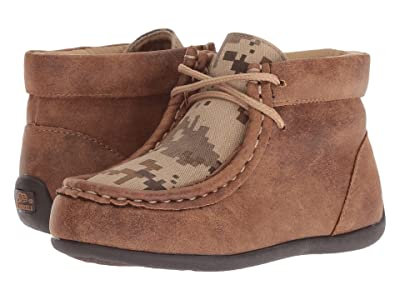 M&F Western Kids Barrett (Toddler) (Tan/Camo) Cowboy Boots