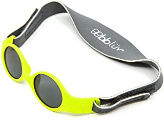 BBLUV Solar Mini-Unbreakable 2-Step Evolving Sunglasses, Aqua