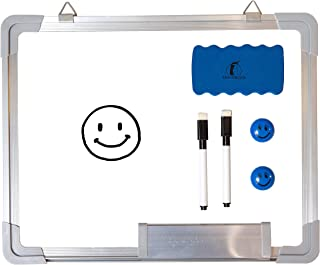 Whiteboard Set - Small Dry Erase Board 15 x 12