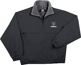 X-Large Graphite NFL Seattle Seahawks Mens Sportsman Waterproof Windbreaker Jacket