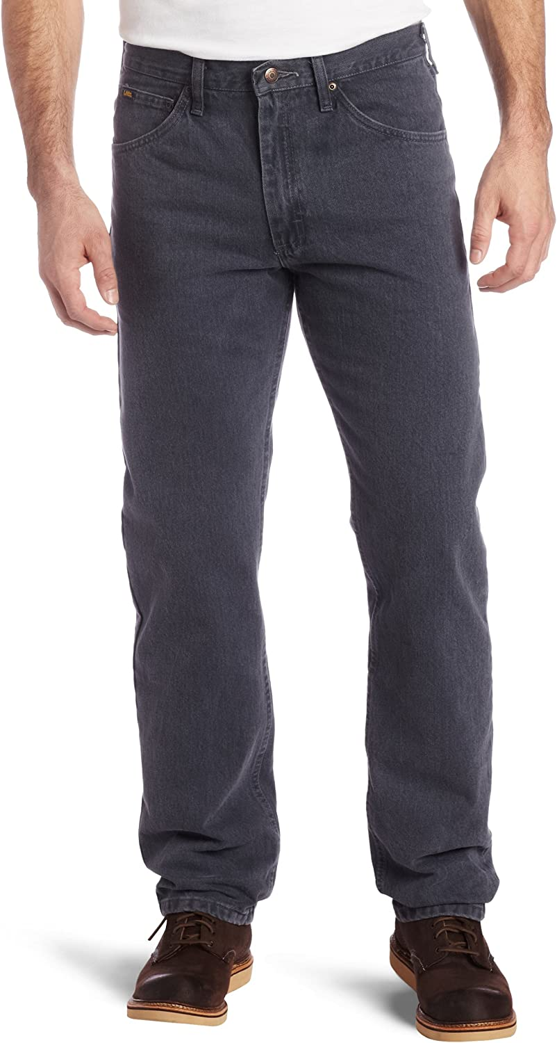 Lee Men's Regular Indianapolis Mall Max 87% OFF Fit Jean Straight Leg