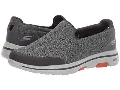 SKECHERS Performance Go Walk 5 (Charcoal) Men
