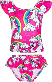 unicorn rainbow swimsuit