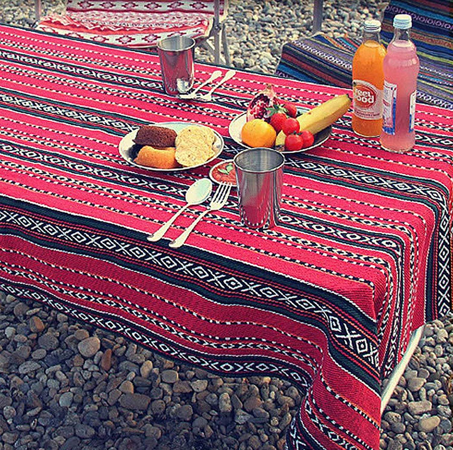 Outdoor Picnic Blanket Mat, Waterproof Padding, Foldable Table Cloth for Families, Outside Beach Blankets for Park, Camping, Yard, Lawn, Sand