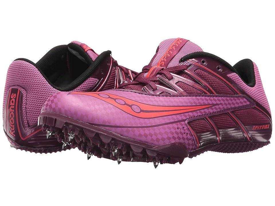 Saucony Spitfire 4 (Purple/Pink) Women